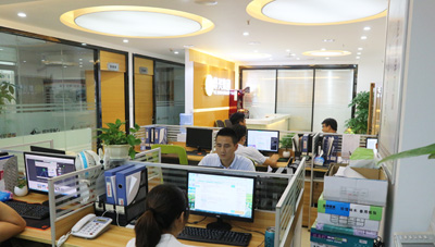 烨兴办公室环境