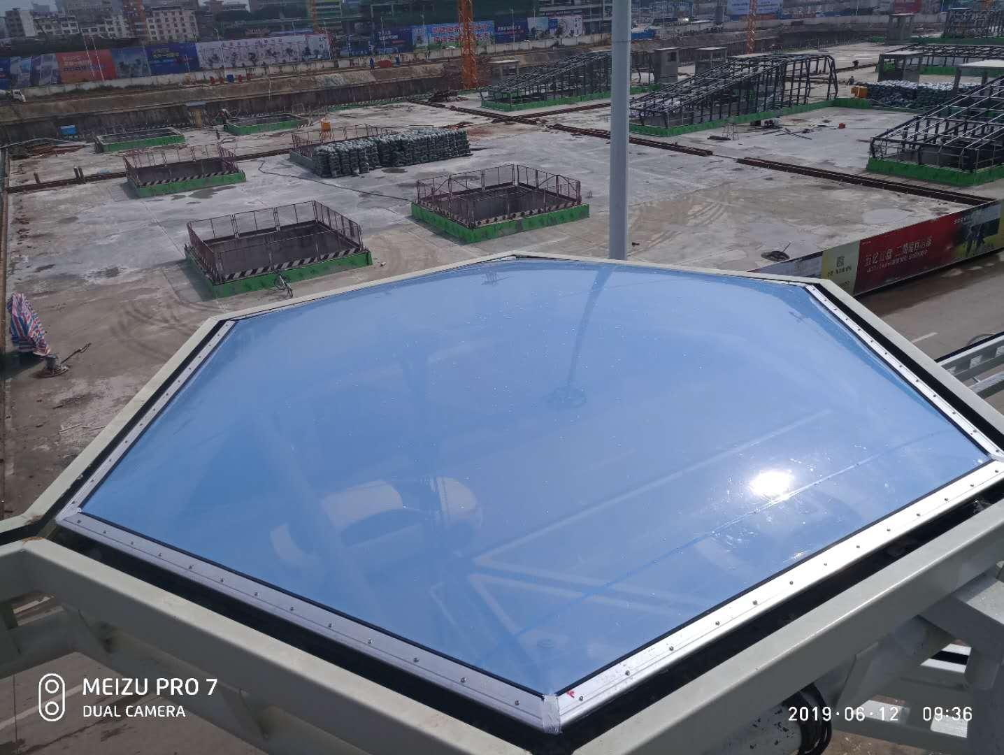 ETFE膜结构在建筑中的应用