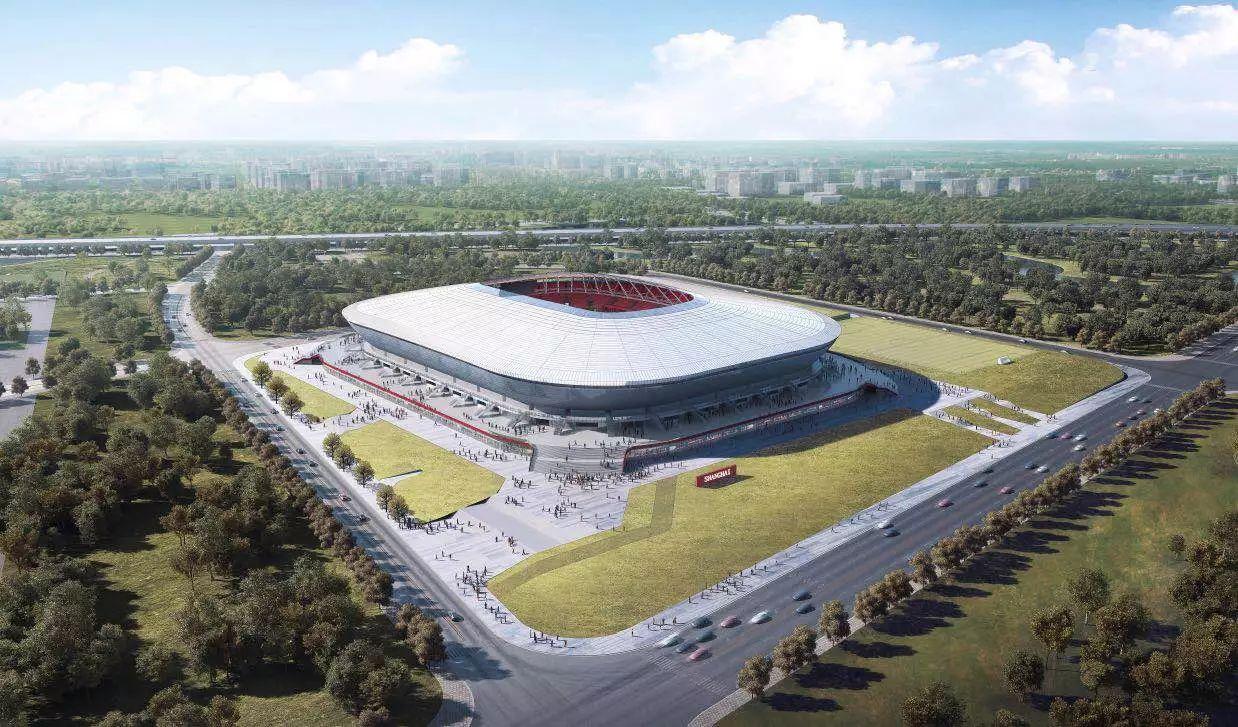 上海浦东足球场屋面膜结构项目介绍