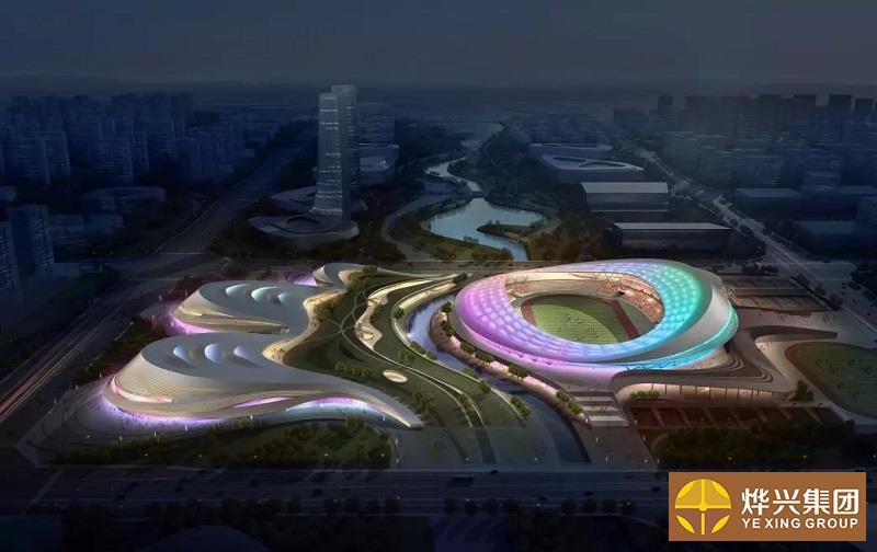 乐山市奥林匹克中心主体育场膜结构项目