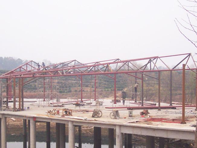 信阳钢结构网架工程