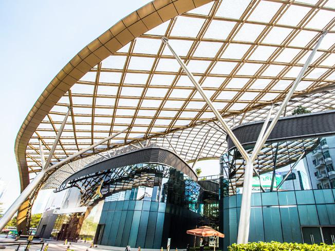 广州宏城广场ETFE膜结构