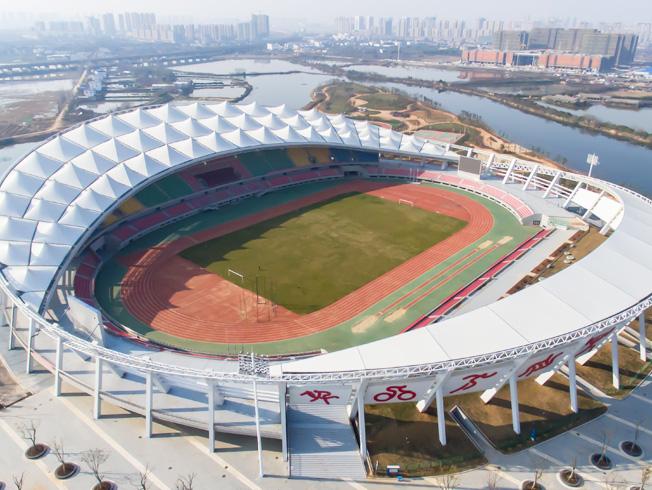 昌南体育中心主体育场膜结构屋面